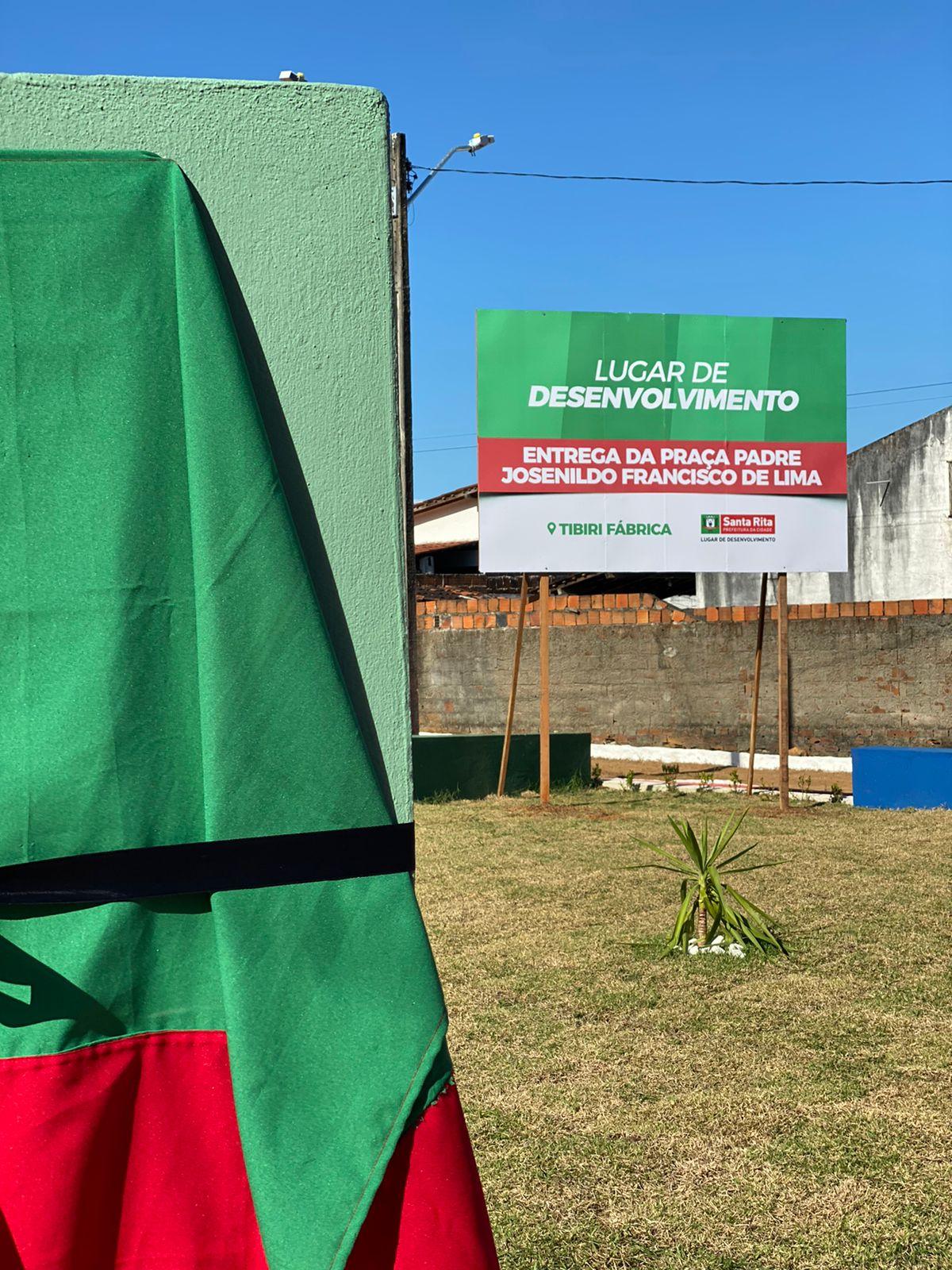Entregue praça e abertas aulas de Escola Cívico-Militar em Santa Rita