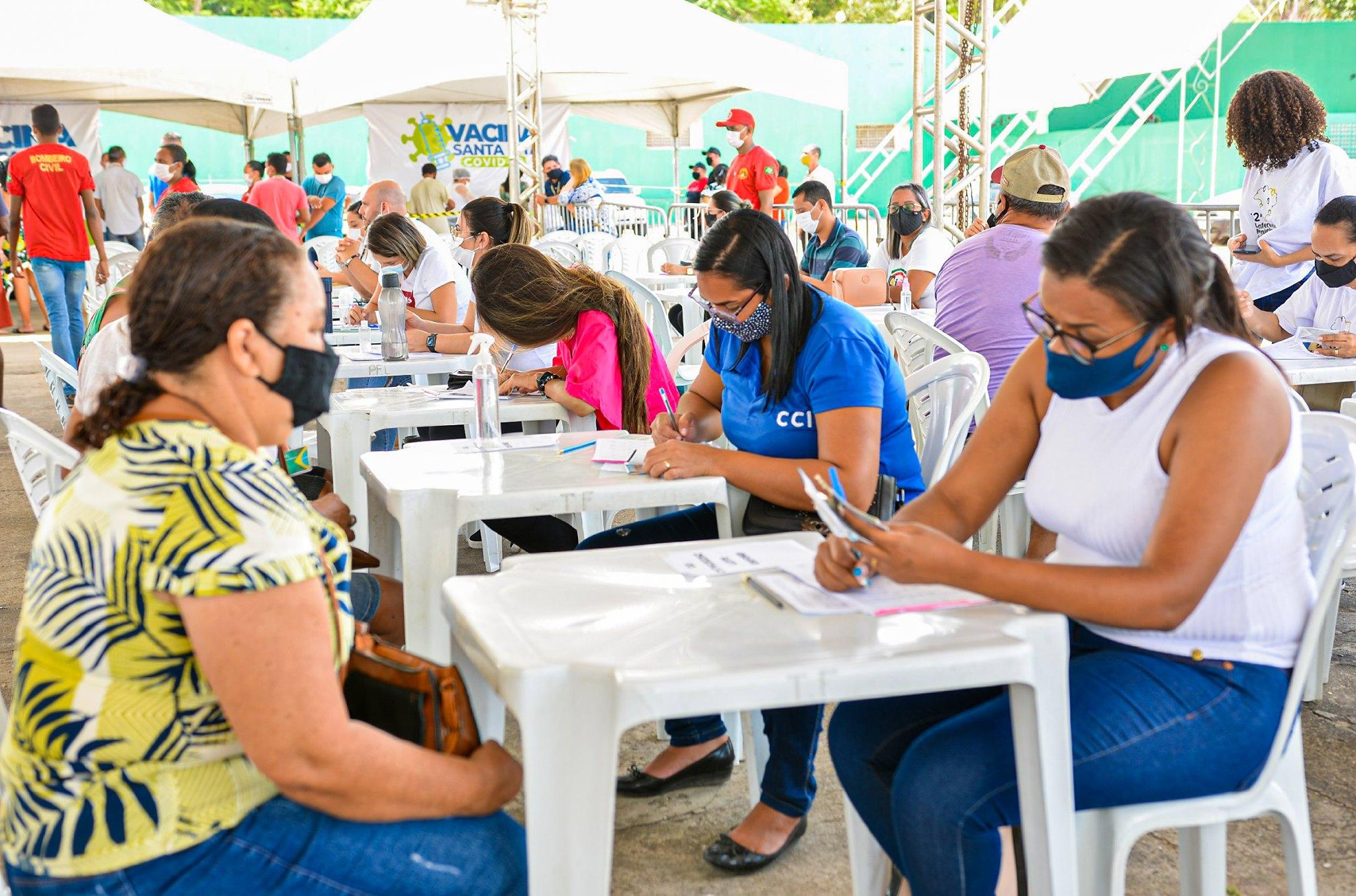 Após 24 horas de campanha, Santa Rita supera 100 mil doses aplicadas