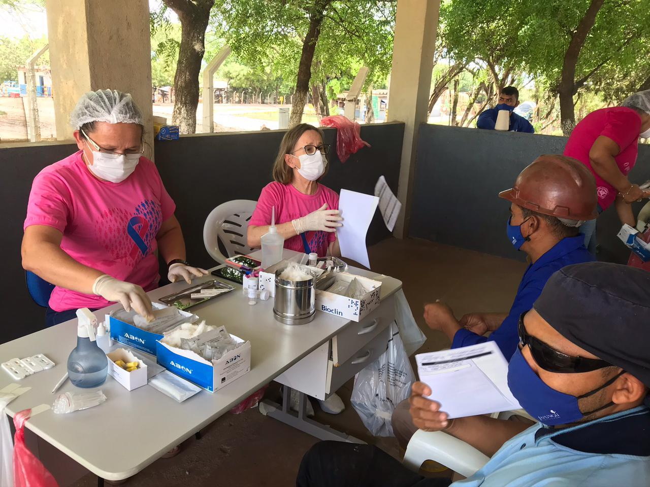 Secretaria de Saúde realiza ações para ampliar o combate à sífilis